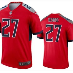 Tennessee Titans 27 George Limited Jersey